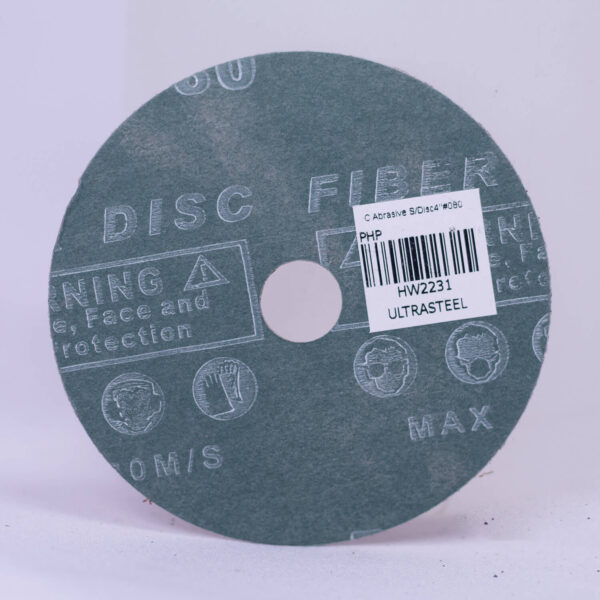 "Creston Abrasive Sanding Disc 4"" #080 SND080"