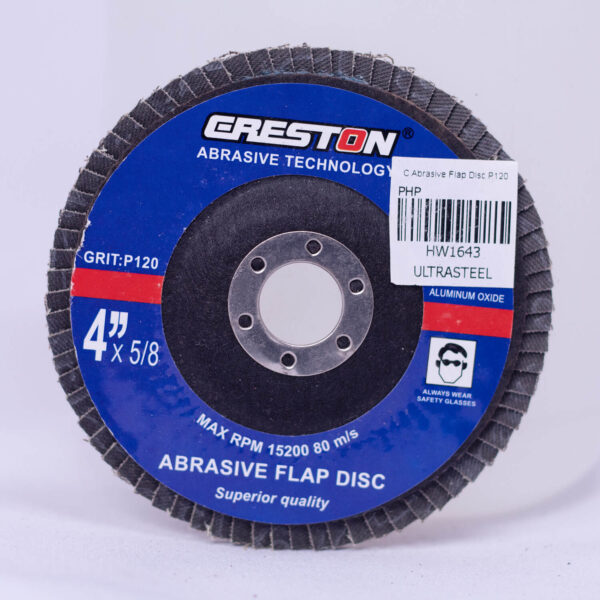 CRESTON ABRASIVE FLAP DISC 4