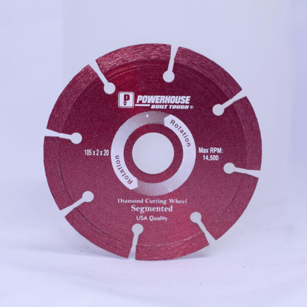 POWERHOUSE DIAMOND WHEEL DRY TYPE 4""