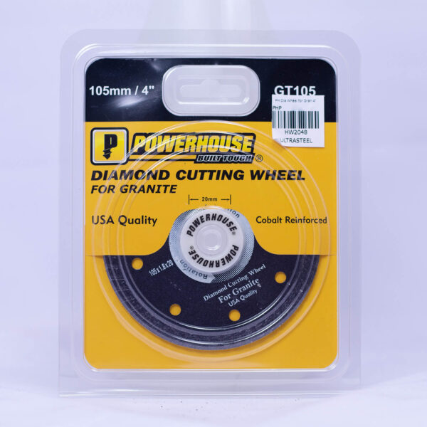 "Diamond Cutting Wheel for Granite 4"""