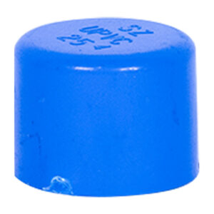 """Blue UPVC End Cap (3/4"""")"""
