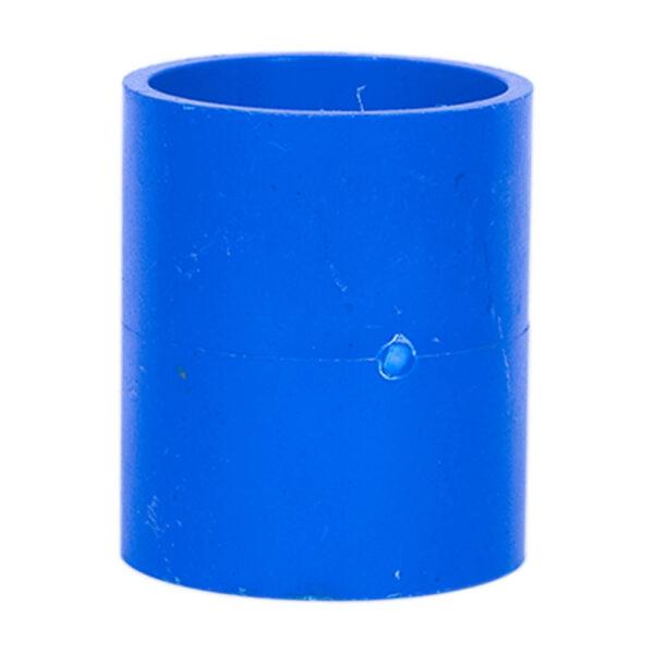 BLUE UPVC COUPLING 40MM 1 14
