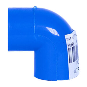 "Blue UPVC Elbow Plain (1/2"")"