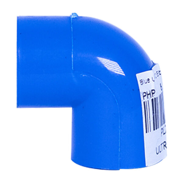 BLUE UPVC ELBOW PLAIN 20MM 12