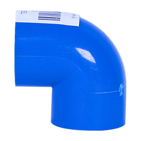 BLUE UPVC ELBOW PLAIN 25MM 34