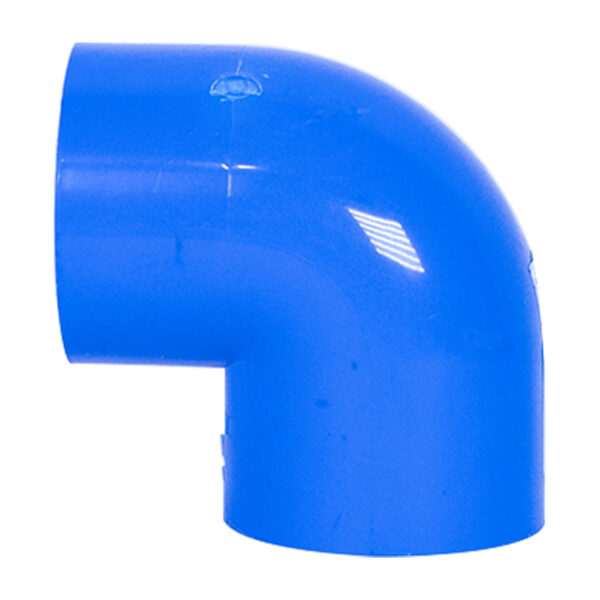 BLUE UPVC ELBOW PLAIN 32MM 1