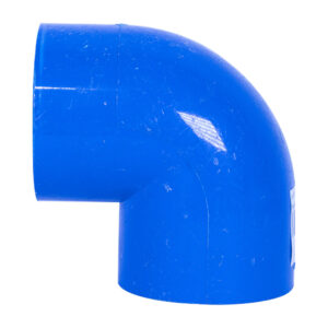 "Blue UPVC Elbow Plain (1-1/2"")"