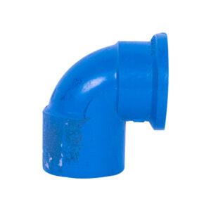 Blue UPVC Elbow Threaded (3/4'')