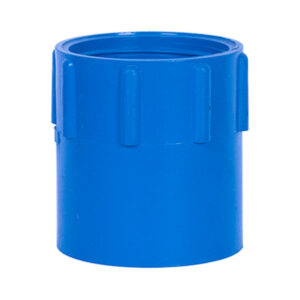 Blue UPVC Female Threaded Adapter (1-1/4'')