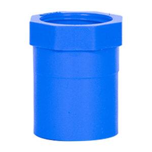 Blue UPVC Female Threaded Adapter (1/2'')