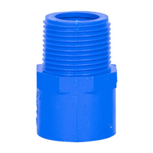 Blue UPVC Male Threaded Adapter (3/4'')