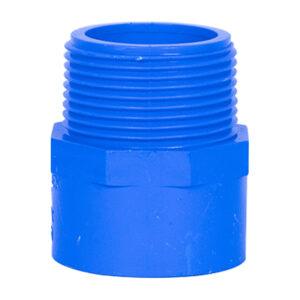 Blue UPVC Male Threaded Adapter (1-1/4'')
