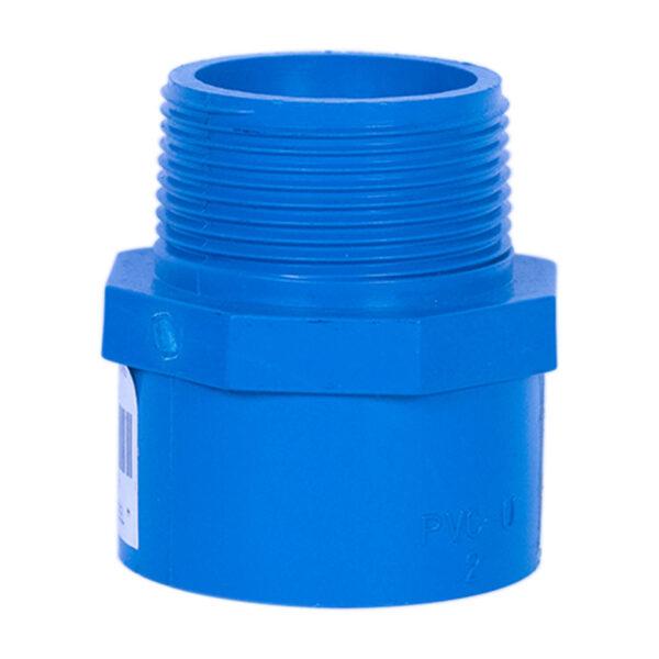 Blue UPVC Male Threaded Adapter (1-1/2'')