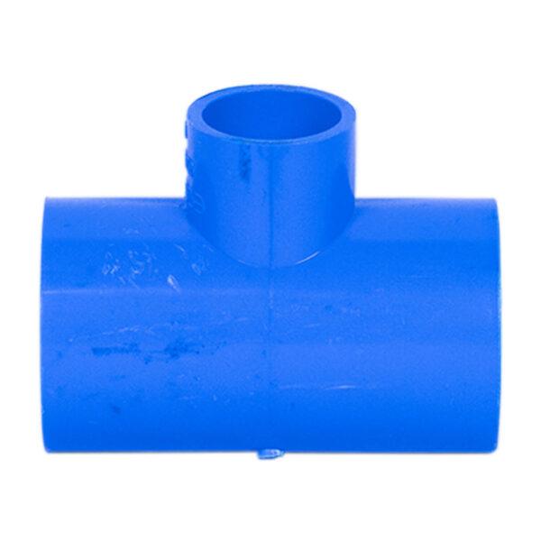 BLUE UPVC TEE REDUCER 1X12