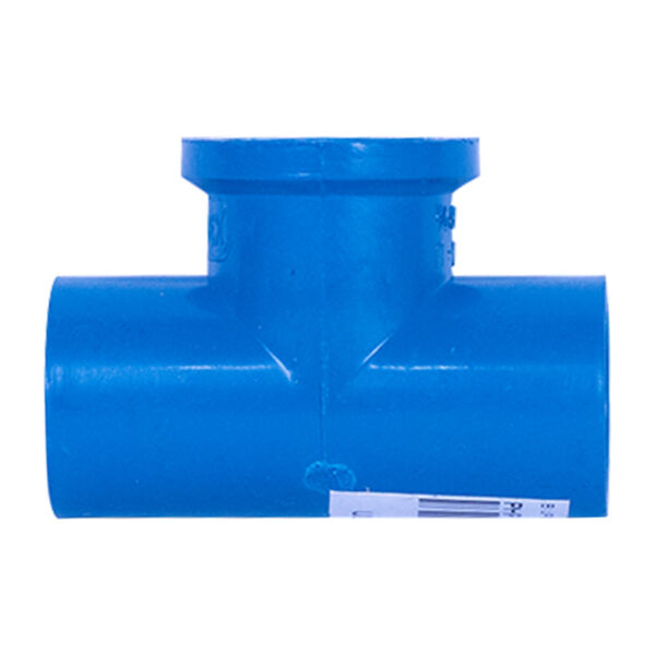 BLUE UPVC TEE THREAD 20MM 12