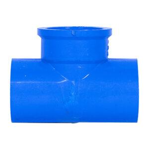 Blue UPVC Tee Threaded (1'')