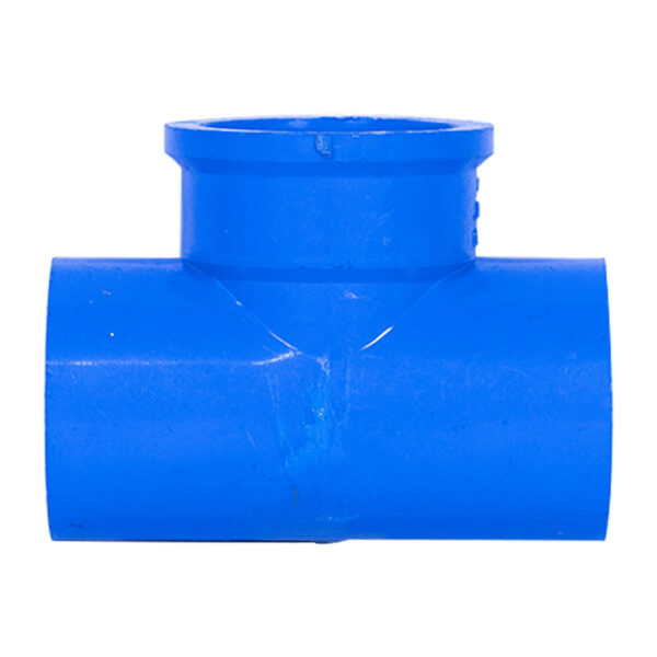 BLUE UPVC TEE THREAD 32MM 1