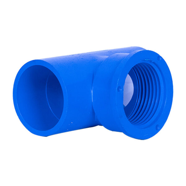 BLUE UPVC TEE THREAD 32MM 11