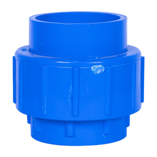 Blue UPVC Union (1-1/2'')