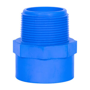 Blue Poly Male Threaded Adapter (1-1/2'')