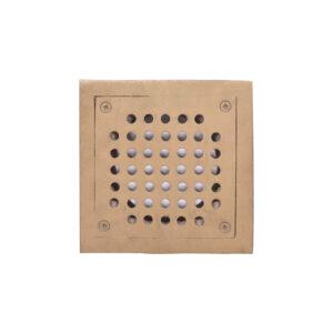 "Floor Drain Brass 6"" x 6"" (JPI-104)"