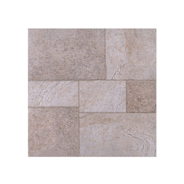 Fino (KJT6605) Stone Multi Square Light Grey Matt