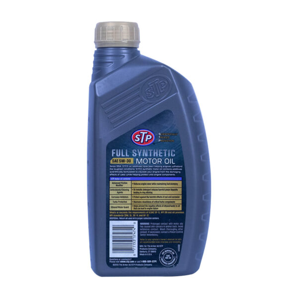 STP® SYN FULL SYNTHETIC MOTOR OIL
