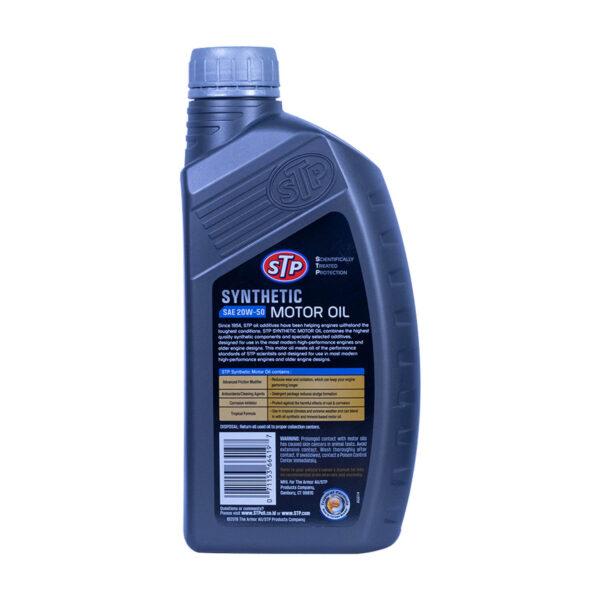 Stp-66419 Synthetic Motor Oil (Semi) 20 W-50 946ml