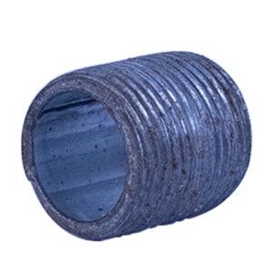 "Galvanized Iron Nipple 20mm (3/4"" diameter x 1"" long)"