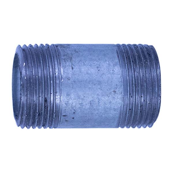 "Galvanized Iron Nipple 25mm (1"" diameter x 2"" long)"