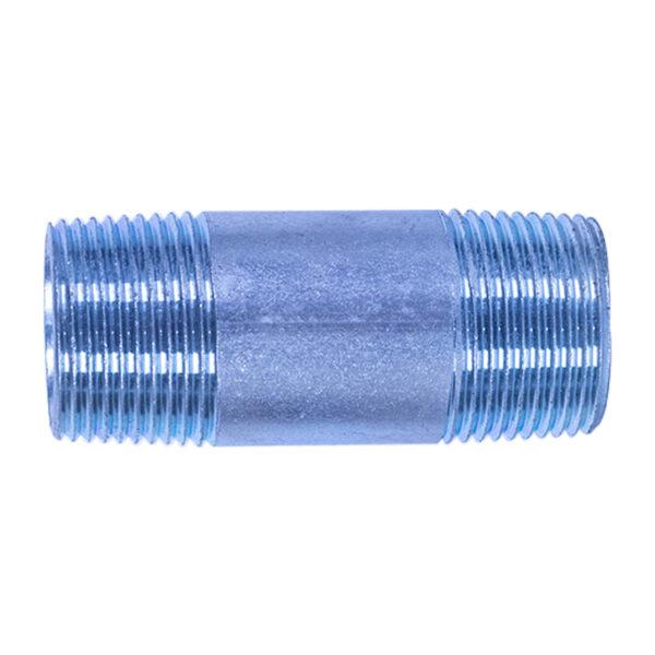 "Galvanized Iron Nipple 25mm (1"" diameter x 3"" long)"