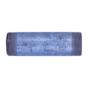 "Galvanized Iron Nipple 32mm (1-1/4"" diameter x 5"" long)"