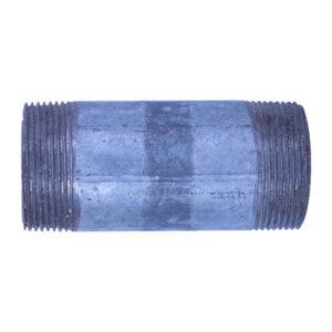 "Galvanized Iron Nipple 38mm (1-1/2"" diameter x 4"" long)"