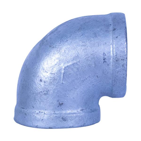 "Galvanized Iron Heavy Duty Elbow 50mm (2"" x 90 degree)"