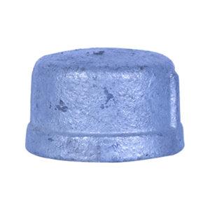 "Galvanized Iron Heavy Duty Cap 25mm (1"")"