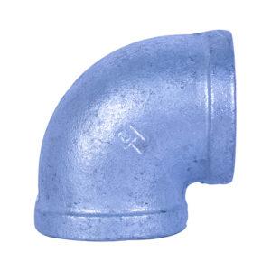 "Galvanized Iron Heavy Duty Elbow 38mm (1-1/2"" x 90 degree)"
