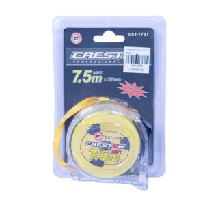 Steeltape 7.5 Meter Clear CST775T