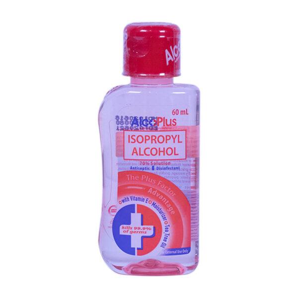 Alcoplus Isopropyl Alcohol 70% 60ml