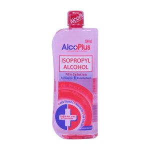 Alcoplus Isopropyl Alcohol 70% 500ml