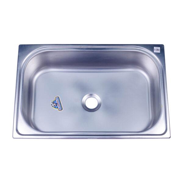 """Kitchen Sink Stainless 16"""" x 24"""" Deep Type Panda/Beaver"""