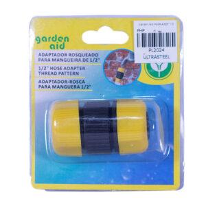 "Garden Aid PVC Hose Adapter 1/2"" (blister)"