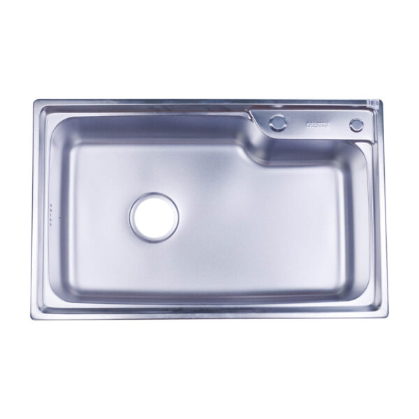 Kitchen Sink 720mm x 450mm with Soap Dispenser (CK-7245D)
