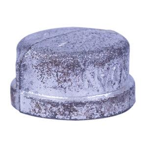 """Galvanized Iron Cap 025mm 1"""""""