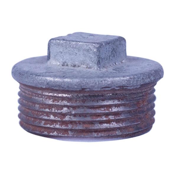 "Galvanized Iron Plug 032mm 1-1/4"""