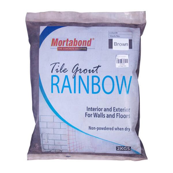 Mortabond Tile Grout Brown 2kg