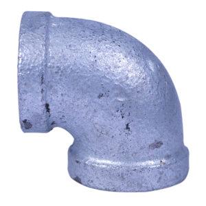 "Galvanized Iron Heavy Duty Elbow 013mm 1/2""x90degree"