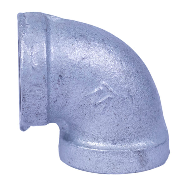 "Galvanized Iron Heavy Duty Elbow 020mm 3/4""x90degree"