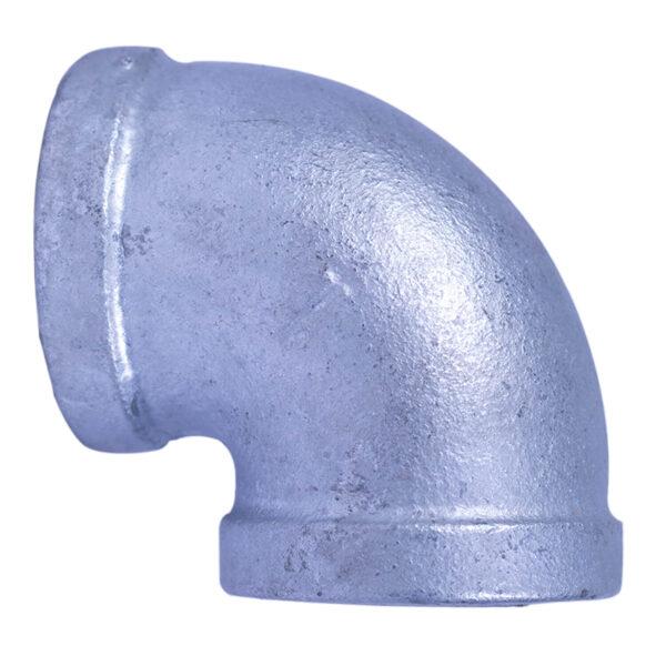 "Galvanized Iron Heavy Duty Elbow 025mm 1""x90degree"