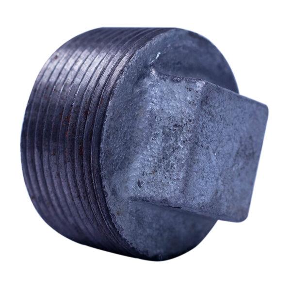 "Galvanized Iron Heavy Duty Plug 038mm(1-1/2"")"