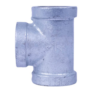 "Galvanized Iron Heavy Duty Tee 020mm 3/4"""